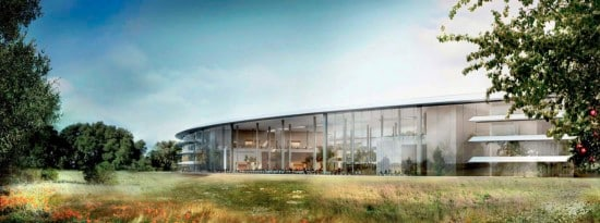 New Detailed Renders & Plans of Apples Wheel-Shaped Campus: Cafeteria - Render