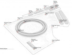 New Detailed Renders & Plans of Apples Wheel-Shaped Campus: Grounds - Diagram