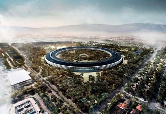 New Detailed Renders & Plans of Apples Wheel-Shaped Campus: Render #1