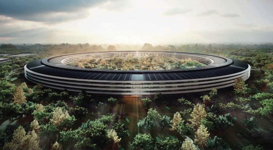 New Detailed Renders & Plans of Apples Wheel-Shaped Campus: Render #3