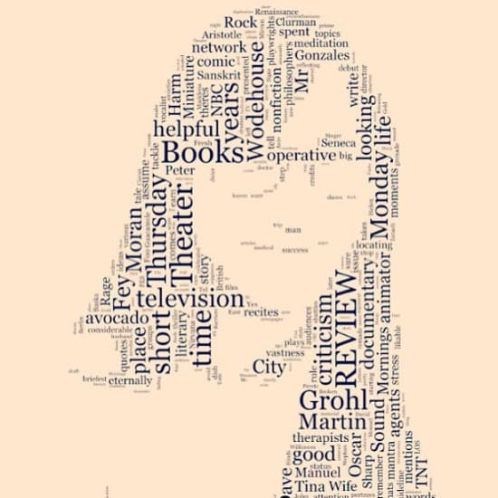 "The Times is doing these cool ""word portraits"" of attendees for free."