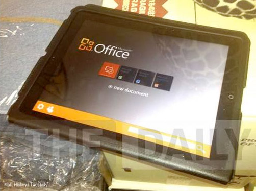 Office for iPad?