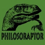 Philosoraptor App is a Dino Guru for the iPhone