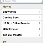 IMDB on the iPhone