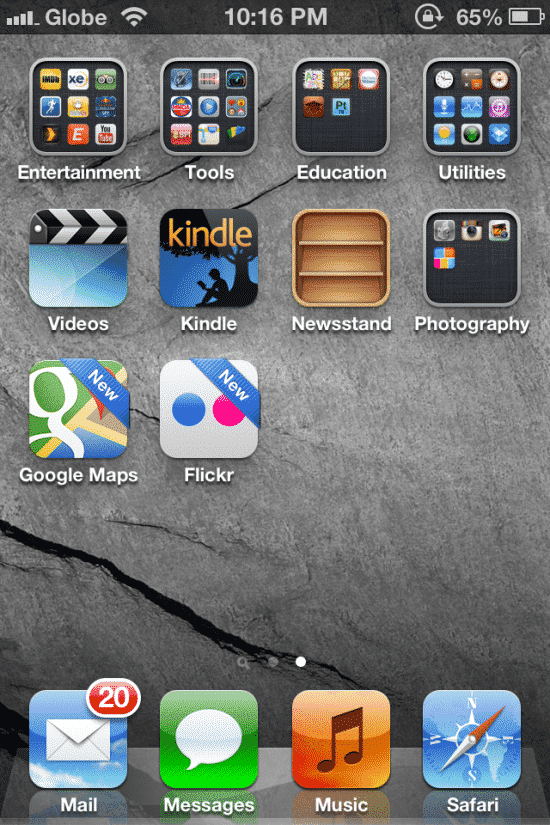 Google Maps and Flickr for iOS