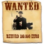 WANTED Poster For iPhone Pics Made by Framed! App