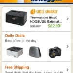 Check on All Electronics with the Newegg Mobile App