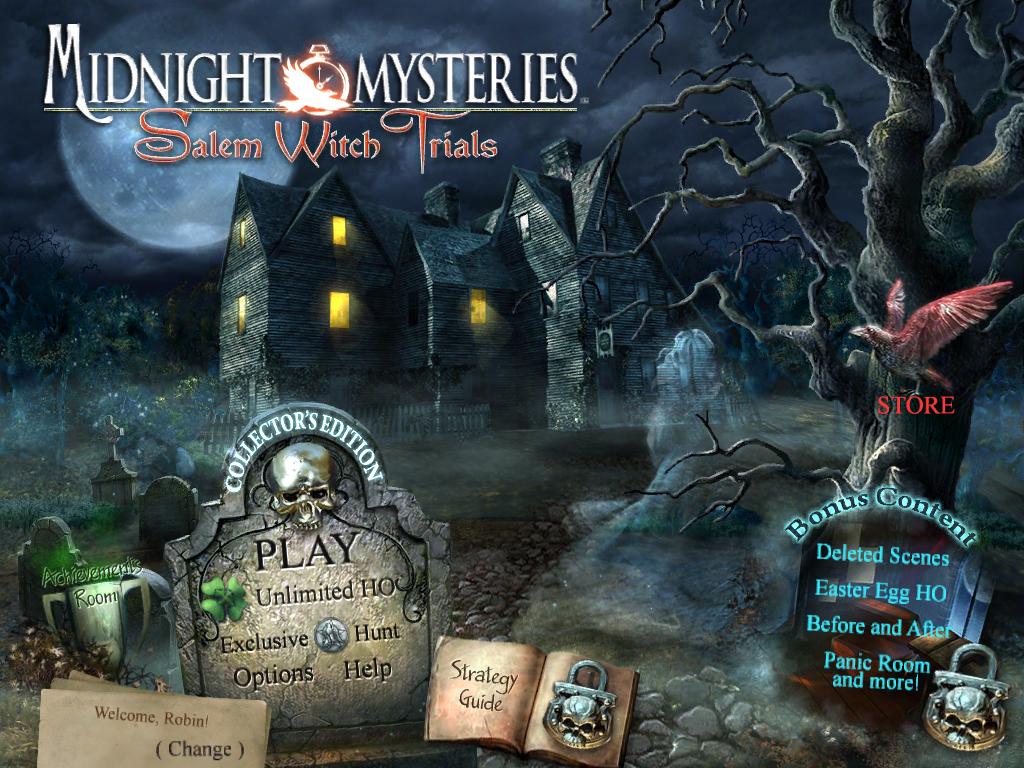 Midnight Mysteries: Salem Witch Trials Walkthrough