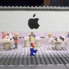 Common Apple Store design depicted in LEGO