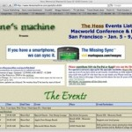Find Out What's Happening at Macworld 2009 with the Hess Memorial Events List