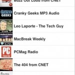 "Podcaster released for iPhone as ""RSS Player"""