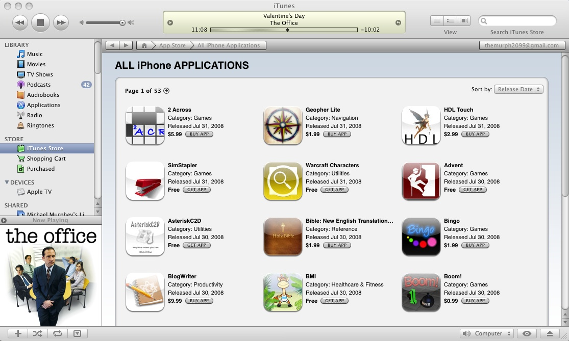 60 Million iPhone/iPod Touch Apps have been downloaded