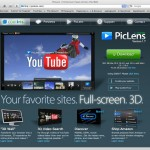 Pic Lens - 3D Image Search for your browser