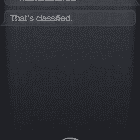 siri classified
