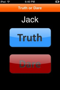 """Truth Or Dare"""
