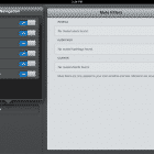 Tweetbot for iPad - customizing the navigation menu