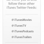 Apple Joins The Twitter Bandwagon To Promote iTunes