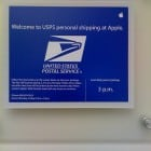 Apparently there's a USPS office somewhere on the Apple HQ campus.