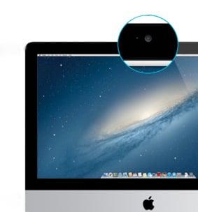 iMac FaceTime camera