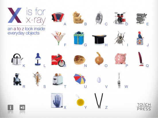 X is for X-Ray screenshot